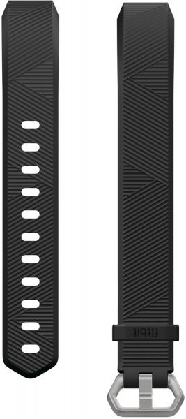 fitbit ALTA HR, Classic Accessory Band, Black, L