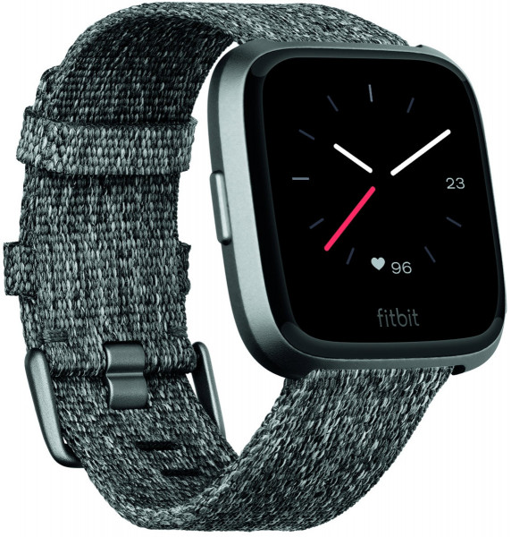 fitbit Versa, Special Edition Charcoal Woven