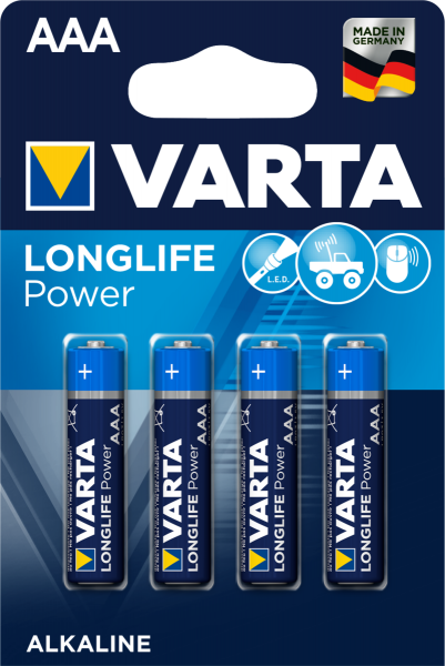 VARTA LONGLIFE Power AAA Blister 4 (DE)
