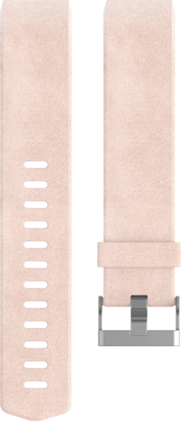 fitbit Leder Band, Blush Pink Large für CHARGE2