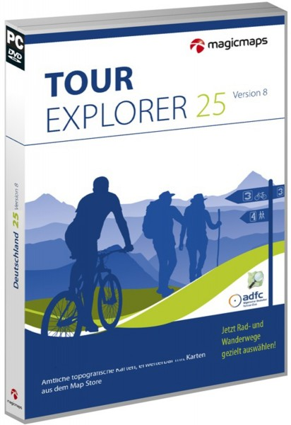 MagicMaps - Tour Explorer 25 - Set Ost 8.0