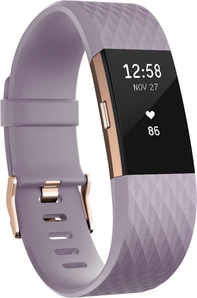fitbit Charge 2, Lavender Rose Gold Small