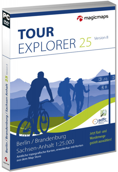 MagicMaps - Tour Explorer 25 - Berlin/Brandenb/Sa-Anh 8.0