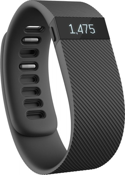 fitbit CHARGE black (schwarz) Large