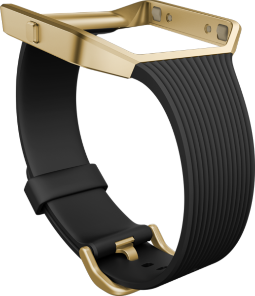 fitbit Slim Band Black/Gold S für BLAZE
